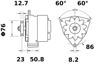 Генератор AAK1193 (IA0230) - схема