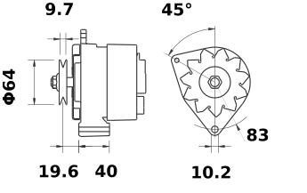 Генератор AAK4105 (IA0256) - схема