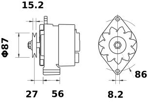 Генератор AAK3328 (IA0453) - схема