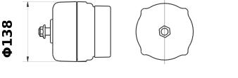 Генератор AAK2302 (MG 607, 11.201.484, IMA301484) - схема