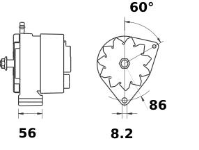 Генератор AAG1341 (IA0507) - схема