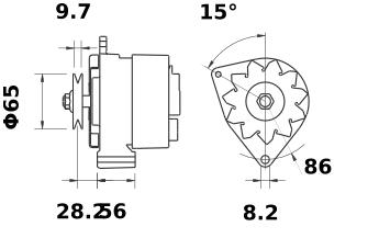 Генератор AAK3132 (IA0580) - схема