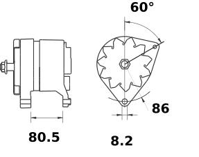 Генератор AAK4599 (IA0811) - схема