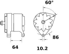 Генератор AAK3309 (IA0831) - схема