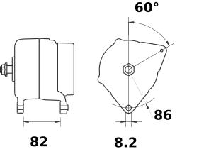 Генератор AAK5562 (IA0970) - схема