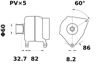 Генератор AAK5301 (IA0992) - схема