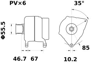 Генератор AAK5778 (IA1416) - схема
