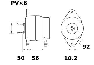 Генератор AAK5535 (IA9020) - схема