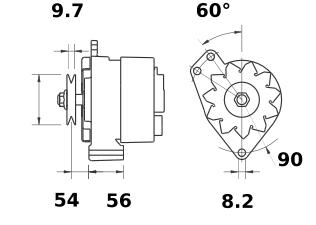 Генератор AAN3102 (IA9402) - схема