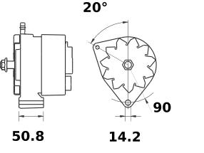 Генератор AAN3116 (IA9421) - схема
