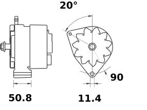 Генератор AAN3117 (IA9422) - схема