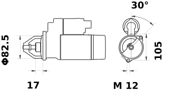 Стартер AZE2186 (IS9411) - схема