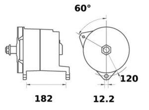 Генератор AAT3393 (11.204.925, IMA304925) - схема